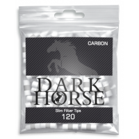 FILTRE TIGARI DARK HORSE SLIM CARBON 6/15 MM