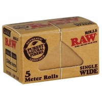 FOITE RAW SINGLE WIDE ROLA 5M