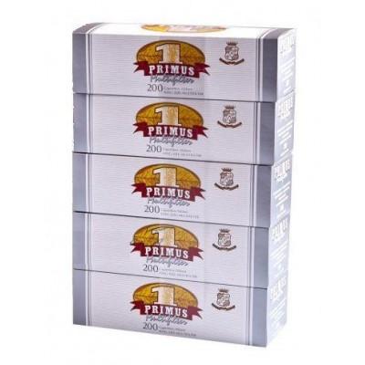 Tuburi de Tigari Primus Multifiltru 1000 buc carbune activ filtru alb