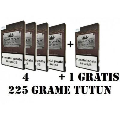 TIGARI DE FOI KORONA 5x45g = 225 g TUTUN